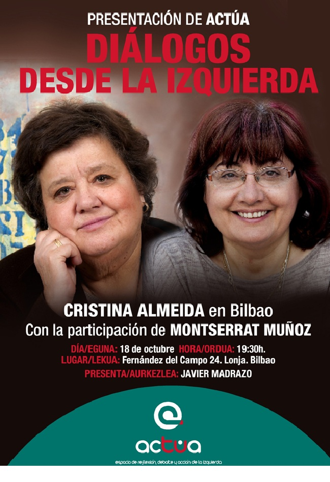 Presentación Actúa en Bilbao