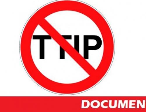 Informe de las secciones sindicales europeas ante la firma por el Parlamento europeo del CETA