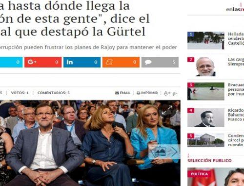 """""""No sabía hasta dónde llega la corrupción de esta gente"""", dice el exconcejal que destapó la Gürtel"""