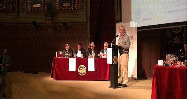 Imagen de los intervinientes en el acto celebrado este sábado en el Ateneo de Madrid.