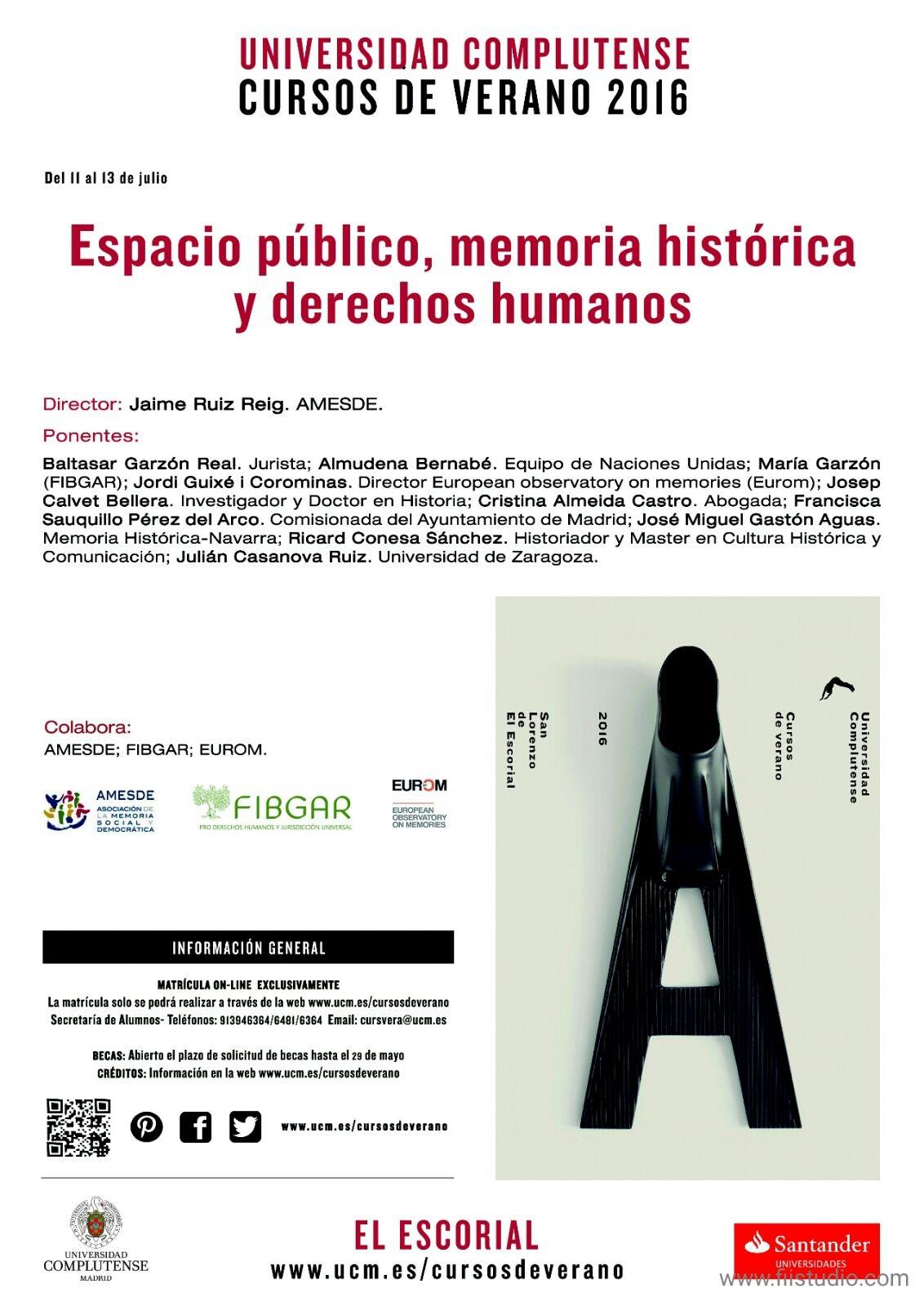 Espacio Público, memoria histórica y derechos humanos