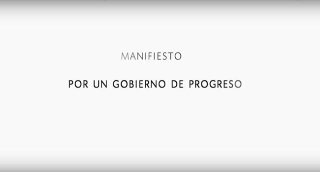 Manifiesto por un gobierno