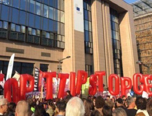 Nuevas filtraciones. España pide aplicar rápido el TTIP de la UE con Canadá pese a las reservas de otros socios europeos.
