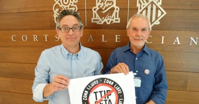 Aprobada en Les Corts Valencianes una iniciativa para instar al Gobierno central a no autorizar la firma del Acuerdo Económico y Comercial Global (CETA)