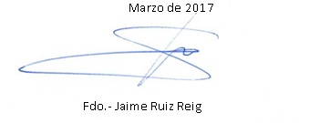 firma Jaime Ruiz