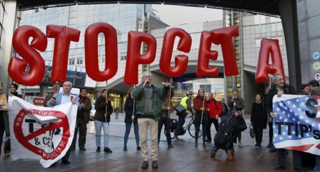 El 'TTIP canadiense' llega al Parlamento español