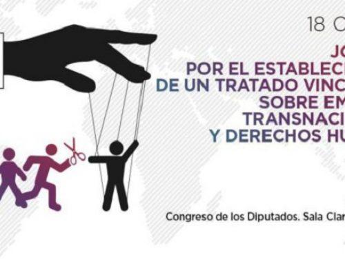Jornada por el establecimiento de un tratado vinculante sobre empresas transnacionales y derechos humanos.