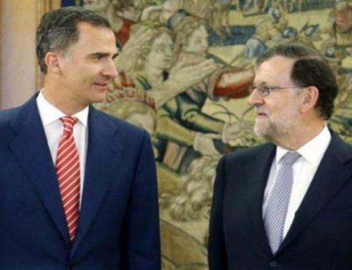 Felipe VI a las órdenes de Rajoy