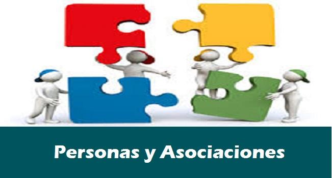 Asociaciones y personas 2