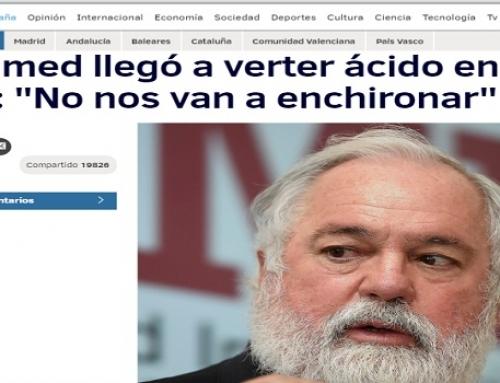 Acuamed llegó a verter ácido en el Ebro: «No nos van a enchironar»