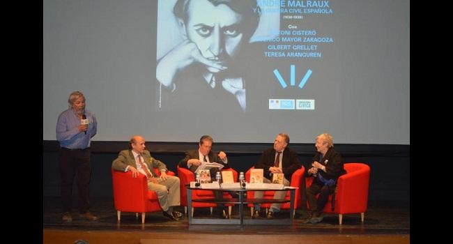 Conferencia André Malraux y la Guerra Civil Española