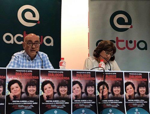 Gran expectación en la presentación de ACTÚA en Bilbao