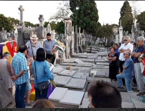 Homenaje 76° Aniversario fallecimiento Matílde Landa