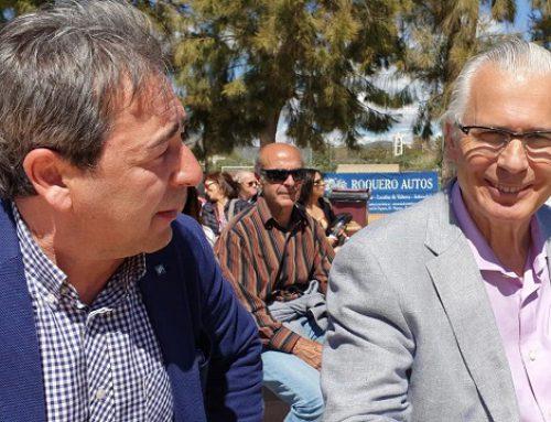 Visita Presidente Convocatoria Cívica Baltasar Garzón a Palma de Mallorca.
